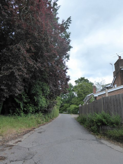 Looking from Crichmere Lane into Manor Crescent