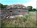 SP1703 : Double Norcon pillbox, former RAF Southrop, SW site by Vieve Forward