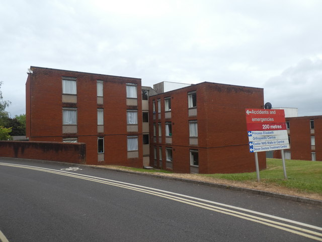 Hospital staff apartments, RD&E Hospital, Exeter