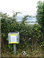 SX9886 : Electronic cycle counter with Covid-19 notice, Exton by David Smith