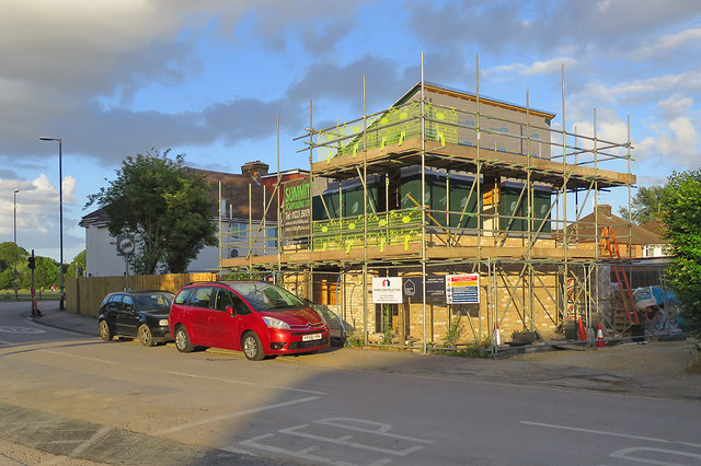 Building work on Cromwell Road