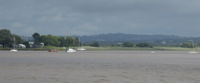 River Exe estuary at Turf