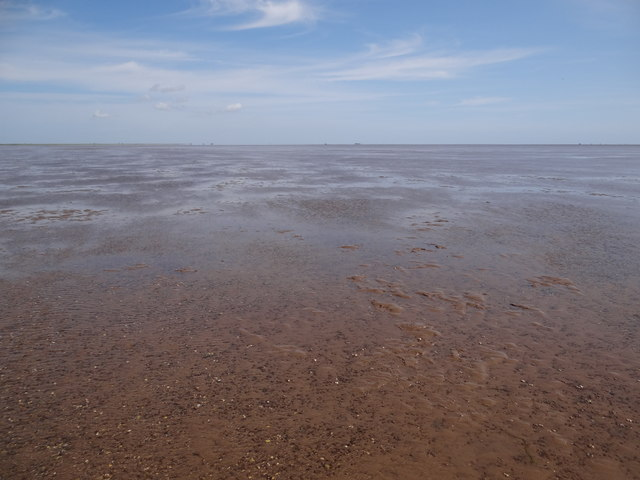 The Wash at Low Tide - at ground level