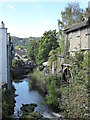 NY3704 : Stock Ghyll from North Bridge, Ambleside by Chris Allen