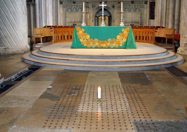 Coronavirus Memorial in Norwich Cathedral