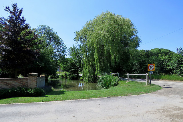 Harlton pond