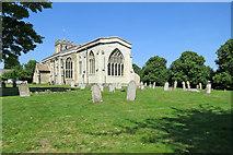 TL3852 : Harlton church on a midsummer morning by John Sutton