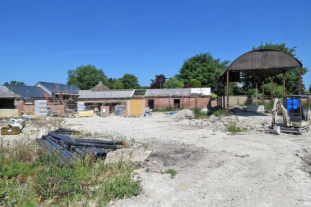 Harlton: reworking farm buildings