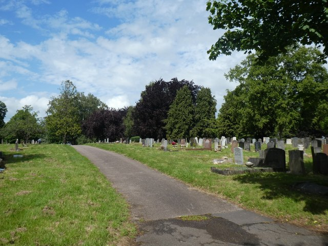 Contemporary graves, Exeter Higher Cemetery