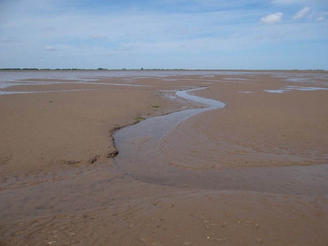 Sand, mud and water
