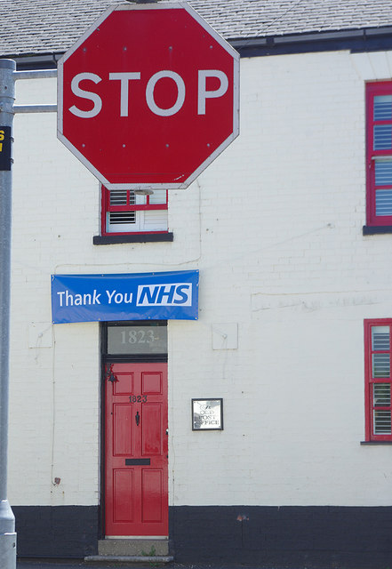 Stop! Thank you NHS