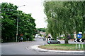 TQ3865 : Roundabout on Addington Road by Peter Trimming
