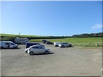 SX1061 : Car Park at Restormel Castle by Darren Haddock