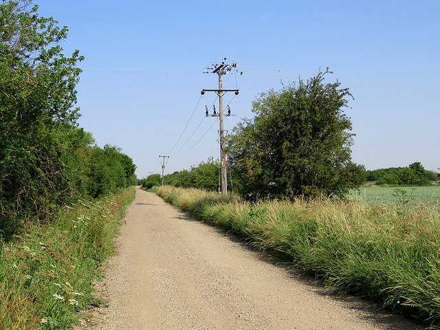 Towards Cottenham on Church Lane
