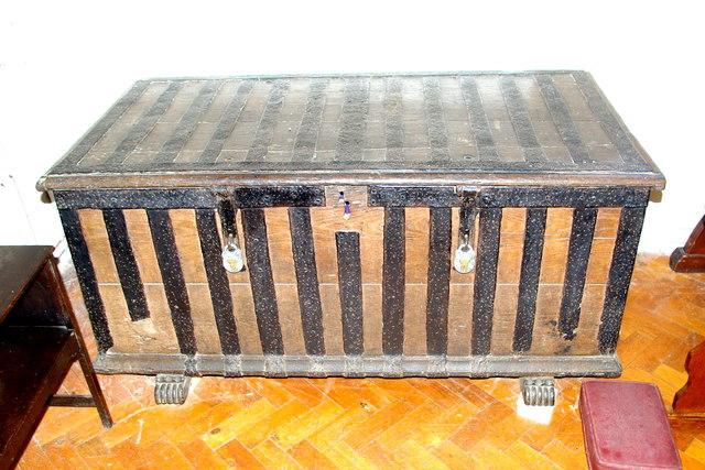 Parish chest in St Mary's Church