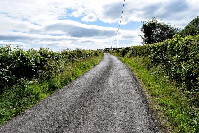 Dark clouds ahead on Dervaghroy Road