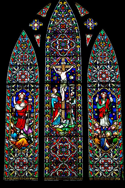 East window in St Mary's Church