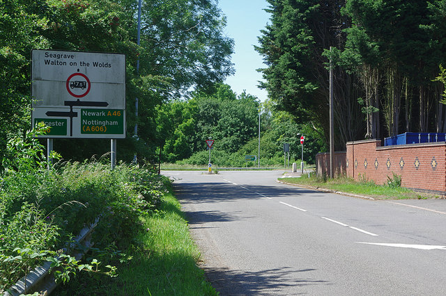 Seagrave Road approaching the A46