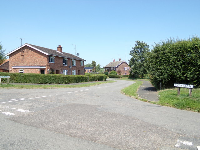 Swan Close, Swannington by Adrian Cable