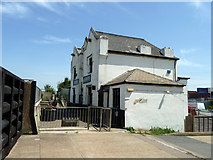 TQ6674 : The Ship and Lobster, Denton Wharf by Robin Webster