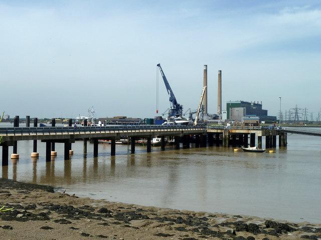 PLA pier, Denton Wharf