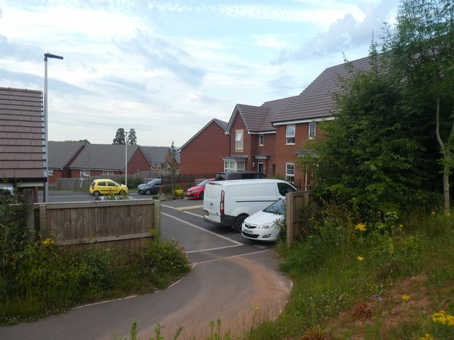 Houses in Poltimore Drive, Monkerton, Exeter