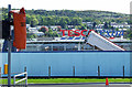 NS3174 : Tesco Extra Port Glasgow construction site by Thomas Nugent