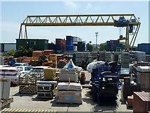 TQ6674 : Building supplies yard, Denton by Robin Webster