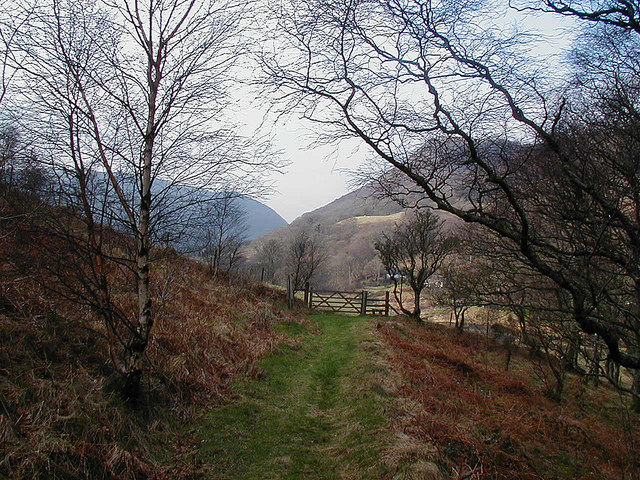 Approaching the gate and stile