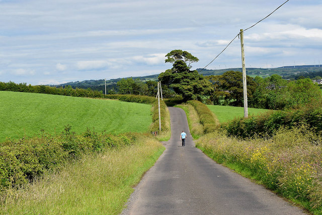 A lone walker, Laragh