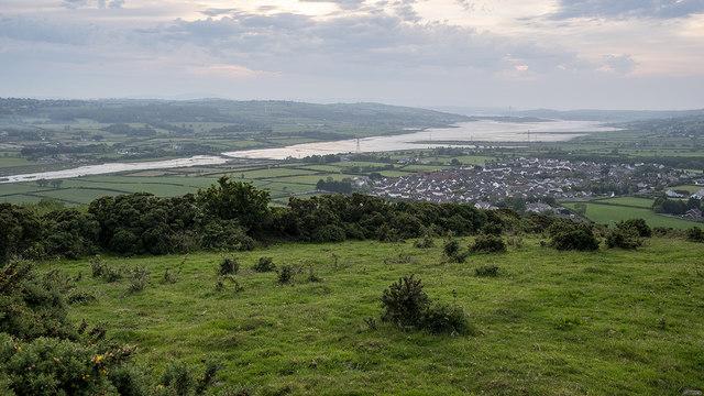 Larne Lough from Muldersleigh Hill