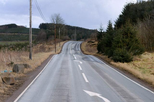 A721, Roman Road