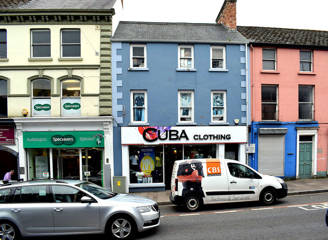 Spec Savers / Cuba Clothing, Market Street, Omagh
