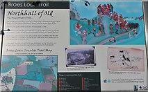 NO3002 : Information Board for Braes Loan Trail by Bill Kasman