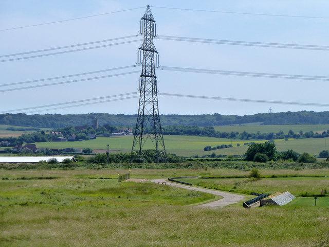Pylon on 400 kV line