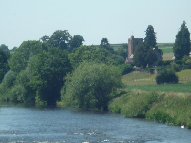 St. Mary's Church and the River Wye (Foy)