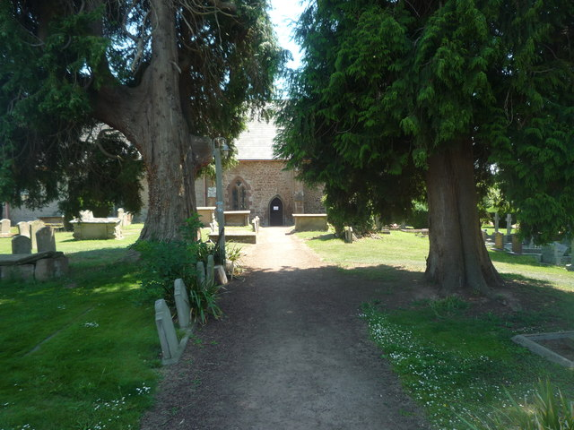 Path to St. Mary's Church (Foy)