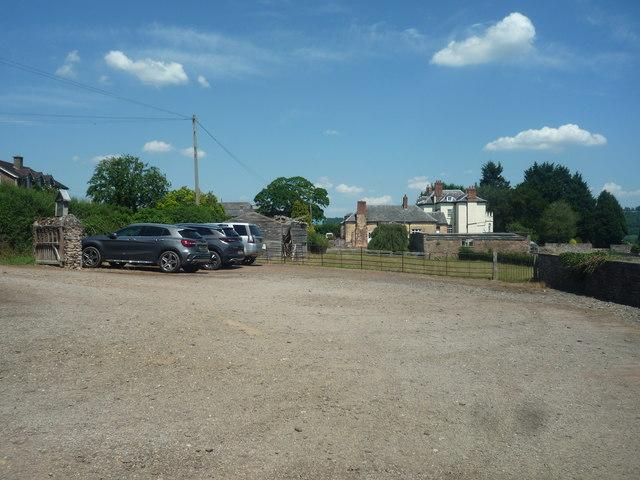Car Park at St. Mary's Church (Foy)
