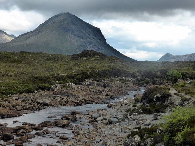 Marsco viewed across the Sligachan River