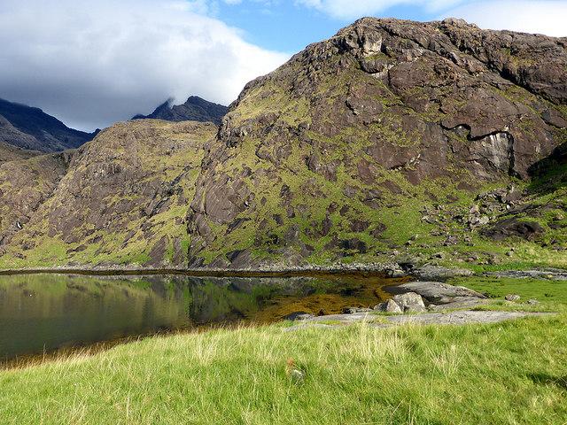 Beside Loch na Cuilce