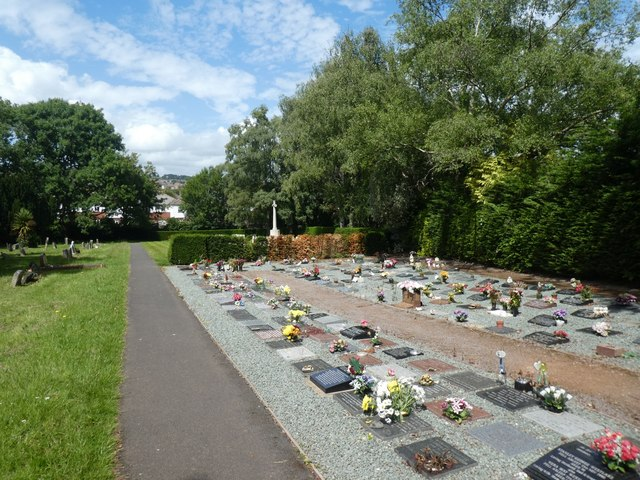 Garden of Remembrance, Exeter Higher Cemetery