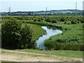TQ6974 : Waterway, Shorne Marshes by Robin Webster