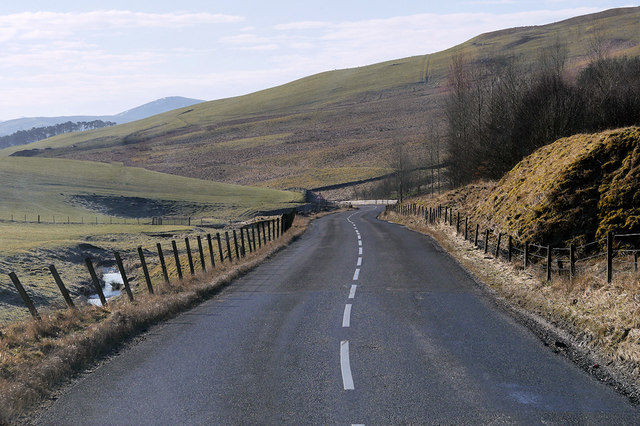 A701 south of Kaimrig End