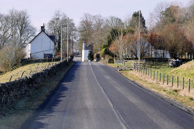 A701, Tweedsmuir