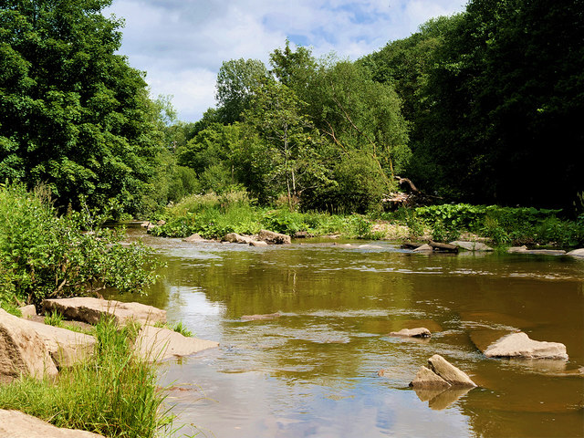 River Irwell at Burrs