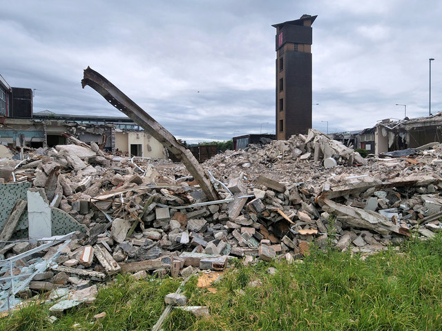 Fire Station Rubble June 2020