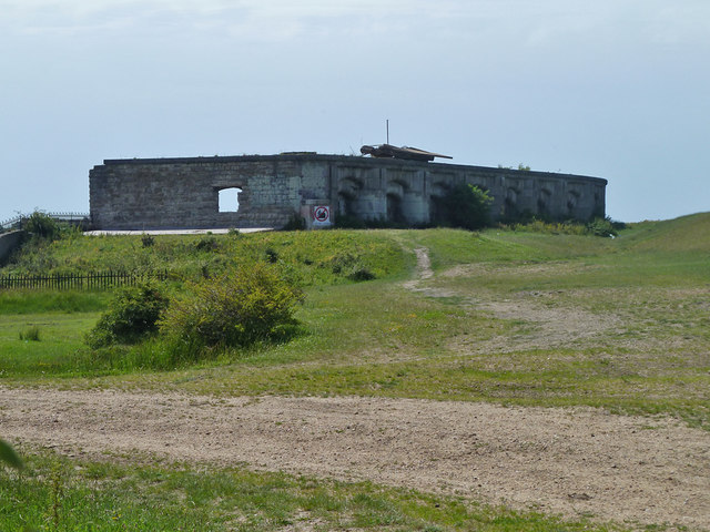 Remains of Shornmead Fort