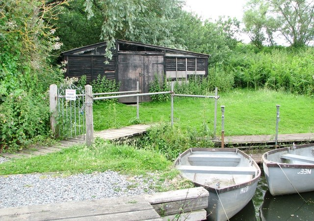 Shed at Rockland St Mary Staithe