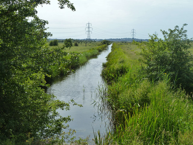 Ditch, Shorne Marshes