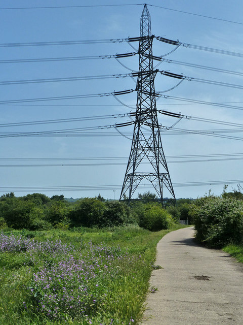 National Grid 400kV pylon